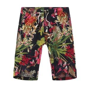 Other - NEW Floral Print Linen Pants